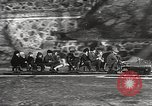 Image of Children ride on train pulled by small locomotive Waltham Massachusetts USA, 1932, second 26 stock footage video 65675062519