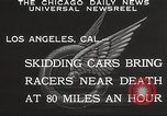 Image of car race Los Angeles California USA, 1932, second 3 stock footage video 65675062520