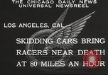 Image of car race Los Angeles California USA, 1932, second 4 stock footage video 65675062520