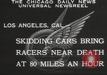 Image of car race Los Angeles California USA, 1932, second 6 stock footage video 65675062520