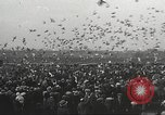 Image of released pigeons Jackson Heights Long Island New York USA, 1932, second 13 stock footage video 65675062521