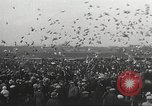 Image of released pigeons Jackson Heights Long Island New York USA, 1932, second 16 stock footage video 65675062521