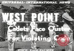 Image of West Point cadets New York United States USA, 1951, second 18 stock footage video 65675062525