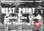 Image of West Point cadets New York United States USA, 1951, second 19 stock footage video 65675062525