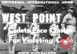 Image of West Point cadets New York United States USA, 1951, second 20 stock footage video 65675062525