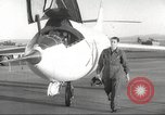 Image of test flight California United States USA, 1953, second 14 stock footage video 65675062536