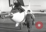 Image of test flight California United States USA, 1953, second 15 stock footage video 65675062536