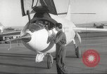 Image of test flight California United States USA, 1953, second 16 stock footage video 65675062536