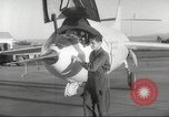 Image of test flight California United States USA, 1953, second 17 stock footage video 65675062536
