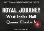 Image of Queen Elizabeth II Jamaica, 1953, second 3 stock footage video 65675062537
