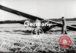 Image of crash landing of airplane Germany, 1953, second 1 stock footage video 65675062539