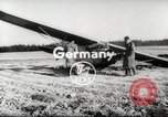 Image of crash landing of airplane Germany, 1953, second 2 stock footage video 65675062539