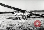Image of crash landing of airplane Germany, 1953, second 4 stock footage video 65675062539