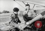 Image of crash landing of airplane Germany, 1953, second 6 stock footage video 65675062539