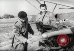Image of crash landing of airplane Germany, 1953, second 7 stock footage video 65675062539