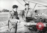 Image of crash landing of airplane Germany, 1953, second 9 stock footage video 65675062539