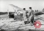 Image of crash landing of airplane Germany, 1953, second 14 stock footage video 65675062539