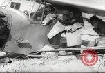 Image of crash landing of airplane Germany, 1953, second 19 stock footage video 65675062539