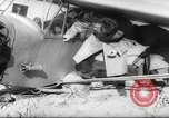 Image of crash landing of airplane Germany, 1953, second 20 stock footage video 65675062539