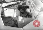 Image of crash landing of airplane Germany, 1953, second 21 stock footage video 65675062539