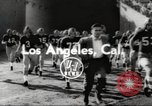 Image of football match Los Angeles California USA, 1953, second 1 stock footage video 65675062542