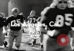 Image of football match Los Angeles California USA, 1953, second 3 stock footage video 65675062542