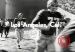 Image of football match Los Angeles California USA, 1953, second 4 stock footage video 65675062542