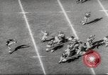 Image of football match Los Angeles California USA, 1953, second 7 stock footage video 65675062542