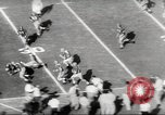 Image of football match Los Angeles California USA, 1953, second 14 stock footage video 65675062542