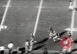 Image of football match Los Angeles California USA, 1953, second 18 stock footage video 65675062542