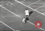 Image of football match Los Angeles California USA, 1953, second 32 stock footage video 65675062542