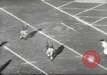 Image of football match Los Angeles California USA, 1953, second 33 stock footage video 65675062542