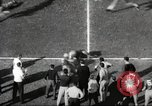 Image of football match Los Angeles California USA, 1953, second 42 stock footage video 65675062542