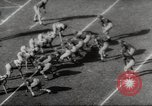 Image of football match Los Angeles California USA, 1953, second 43 stock footage video 65675062542