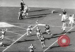 Image of football match Los Angeles California USA, 1953, second 48 stock footage video 65675062542
