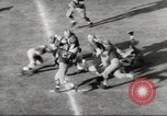 Image of football match Los Angeles California USA, 1953, second 59 stock footage video 65675062542