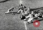 Image of football match Los Angeles California USA, 1953, second 61 stock footage video 65675062542