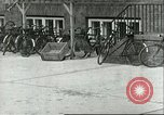 Image of A-4 missile towed for simulated launch at Test Stand 5 Peenemunde Germany, 1943, second 1 stock footage video 65675062547