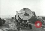 Image of A-4 missile towed for simulated launch at Test Stand 5 Peenemunde Germany, 1943, second 31 stock footage video 65675062547