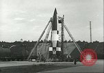 Image of A-4 missile Ostvorpommern Germany, 1943, second 58 stock footage video 65675062549