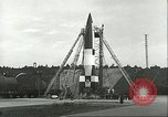 Image of A-4 missile Ostvorpommern Germany, 1943, second 60 stock footage video 65675062549