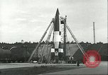 Image of A-4 missile Ostvorpommern Germany, 1943, second 61 stock footage video 65675062549