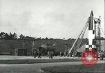 Image of A-4 missile Peenemunde Germany, 1943, second 7 stock footage video 65675062550