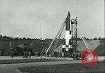 Image of A-4 missile Peenemunde Germany, 1943, second 13 stock footage video 65675062550