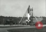 Image of A-4 missile Peenemunde Germany, 1943, second 14 stock footage video 65675062550