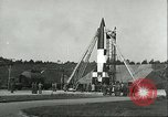 Image of A-4 missile Peenemunde Germany, 1943, second 15 stock footage video 65675062550
