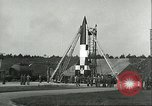 Image of A-4 missile Peenemunde Germany, 1943, second 17 stock footage video 65675062550