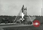 Image of A-4 missile Peenemunde Germany, 1943, second 18 stock footage video 65675062550