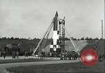 Image of A-4 missile Peenemunde Germany, 1943, second 21 stock footage video 65675062550