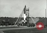 Image of A-4 missile Peenemunde Germany, 1943, second 23 stock footage video 65675062550